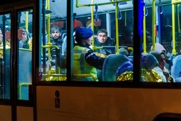 Vingt-cinq migrants découverts dans un conteneur réfrigéré