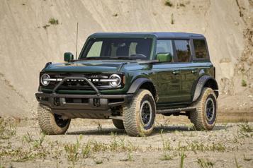 Ford abandonne l'idée d'un Bronco en version camionnette)