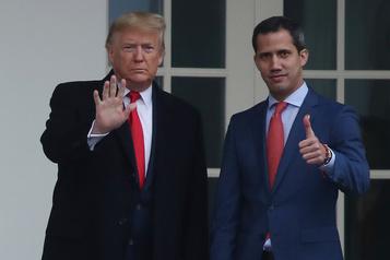 Juan Guaidó doit pouvoir rentrer en sécurité au Venezuela, avertit Washington