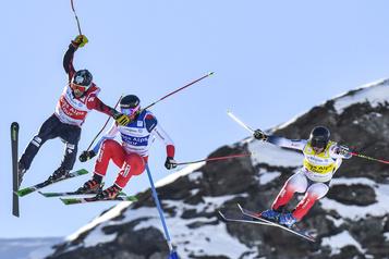 Ski cross: les Canadiens amorcent la saison avec trois médailles