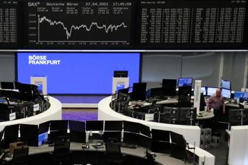 Les marchés européens sans direction)