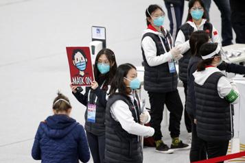 Jeux de Pékin Des sportifs étrangers s'entraînent sur les sites olympiques