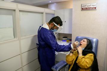 Nouveau record de cas de COVID-19 en Iran)