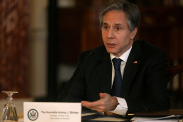 OTAN Blinken à Bruxelles pour discuter Iran, Afghanistan, Ukraine)