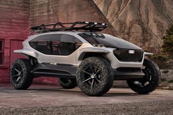 Adieu à la Formule E Audi ira au Dakar-2022 avec un prototype électrique)