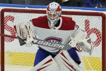 Canadien-Sabres Une première pour Samuel Montembeault