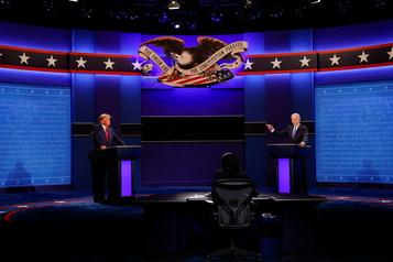 Revoyez le débat entre Donald Trump et Joe Biden)