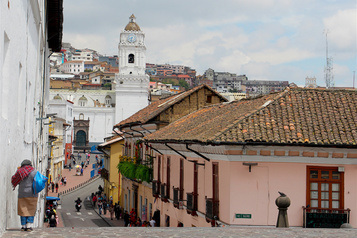 Quito : patrimoine vivant)