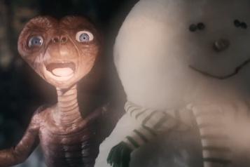 E.T. de retour sur Terre le temps d'une publicité