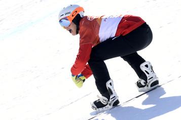 Surf des neiges Éliot Grondin signe sa première victoire en Coupe du monde)