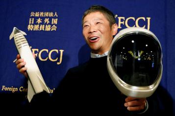 SpaceX Un milliardaire japonais offre huit sièges pour un voyage autour de la Lune)