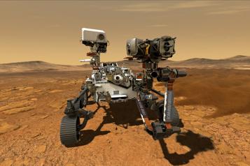 Recherche de vie sur Mars Sept mois plus tard, Perseverance doit se poser jeudi)