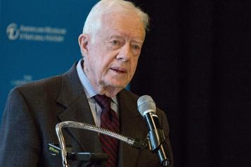 Les «injustices raciales» sapent la démocratie, dénonce Jimmy Carter)