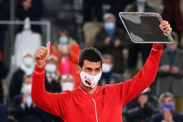 ATP Djokovic ne disputera pas le Masters de Paris-Bercy)