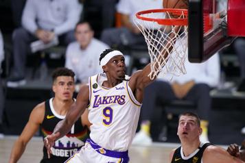 Rajon Rondo de retour avec les Lakers)