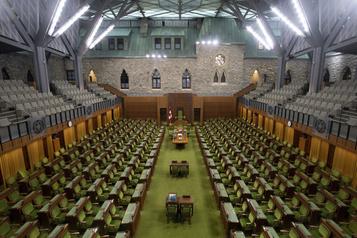 Discours du Trône La Chambre des communes teste le vote à distance )