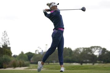 Omnium de golf féminin de LosAngeles Jessica Korda en tête, Brooke Henderson est troisième)