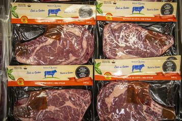 Hausse des ventes de bœuf du Québec)