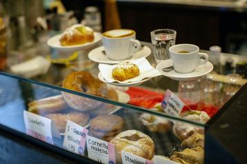 La simplicité (à l'italienne) a bien meilleur goût au Caffettiera Caffé Bar)
