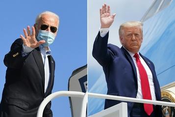 Présidentielle américaine À trois jours du scrutin, Biden et Trump se concentrent sur les États-clés)