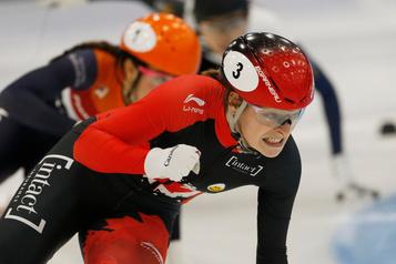 Les patineurs canadiens remportent trois médailles en Chine