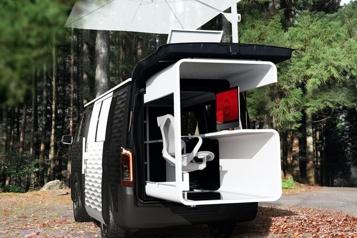 Avec le NissanNV350 Caravan, votre travail vous suit partout)