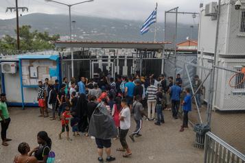 Des migrants mineurs de Grèce «probablement» évacués la semaine prochaine