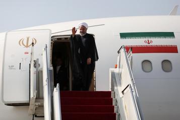 Le président iranien va chercher des soutiens à l'ONU face à Washington
