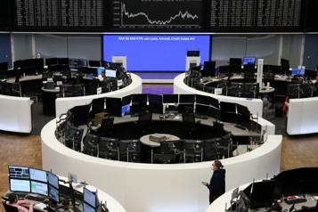 Les Bourses européennes se montrent plus prudentes)