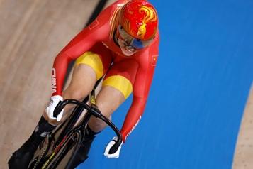 Cyclisme sur piste Record du monde de vitesse par équipe pour les Chinoises)