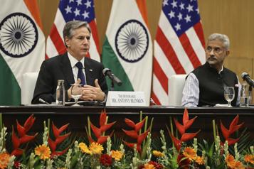 Inde Blinken lance un avertissement sur la démocratie et les droits humains)
