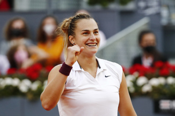 Aryna Sabalenka triomphe à Madrid)