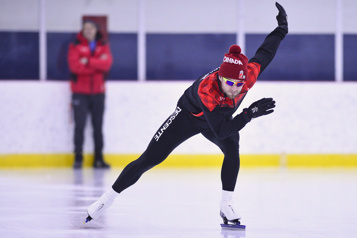 Patinage de vitesse Laurent Dubreuil : « Je crois en mes chances » )