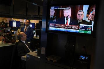 Le NASDAQ à un record après des propos de Trump sur l'Iran jugés rassurants