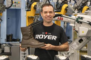 Univers PME Royer veut fabriquer les meilleures bottes militaires au monde )