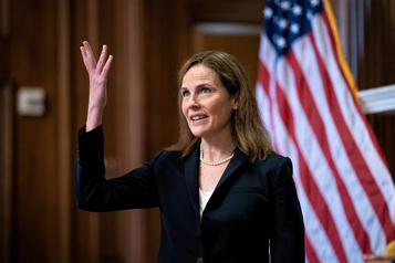 Cour suprême  La nomination de la juge Amy Coney Barrett confirmée lundi)