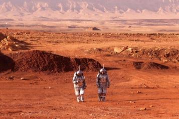 Dans le désert israélien, des astronautes simulent la «vie sur Mars»