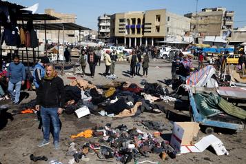 Double attentat suicide à Bagdad: 32 morts, 110 blessés)