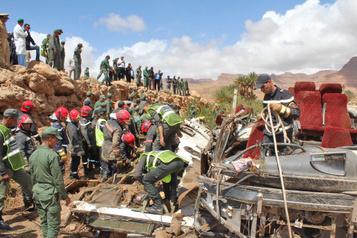 Inondations au Maroc: 17 morts dans l'accident d'un bus
