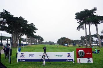Le Championnat de la PGA commence dans le calme)