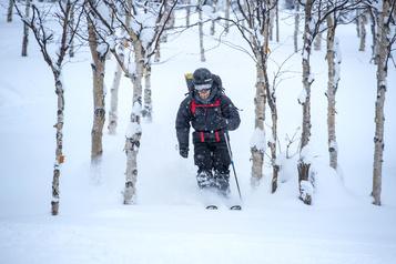 Un bel engouement pour le ski de montagne)