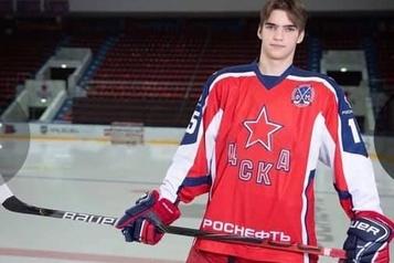 LHJMQ: Sherbrooke choisit un défenseur russe de 17ans de 6pieds et 4pouces)