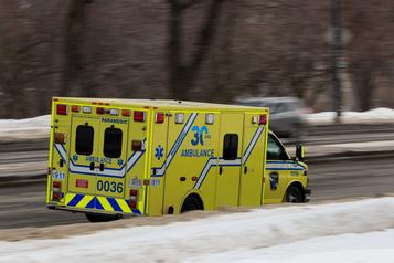 Un septugénaire perd la vie dans un accident d'auto à Québec