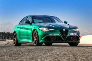 Essai routier  Alfa Romeo Giulia Quadrifoglio : la quintessence de la berline sportive