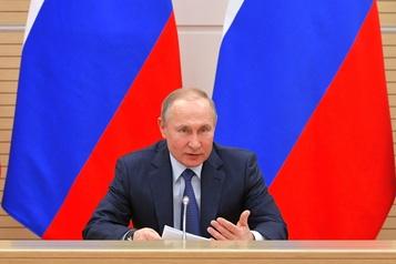 Pour Poutine, un mariage n'est possible qu'entre «un homme et une femme»