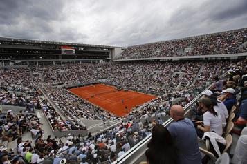Seulement 1000spectateurs seront admis à Roland-Garros)
