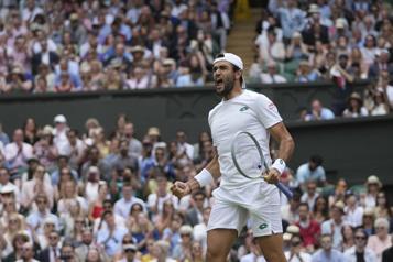 Matteo Berrettini passe en finale à Wimbledon)