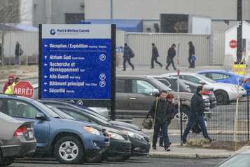 Des employés de Pratt&Whitney doivent retourner à l'usine