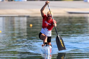 Canoë-kayak de vitesse Laurence Vincent Lapointe: «J'essaie de garder l'espoir dans mon cœur» )