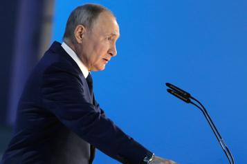 Poutine met en garde l'Occident dans son discours annuel)